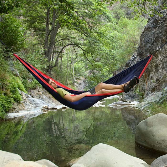 dp fabric parachute bed hammock sports capacity camping outdoors inch hammocks tree with ultralight hanging fome adjustable x