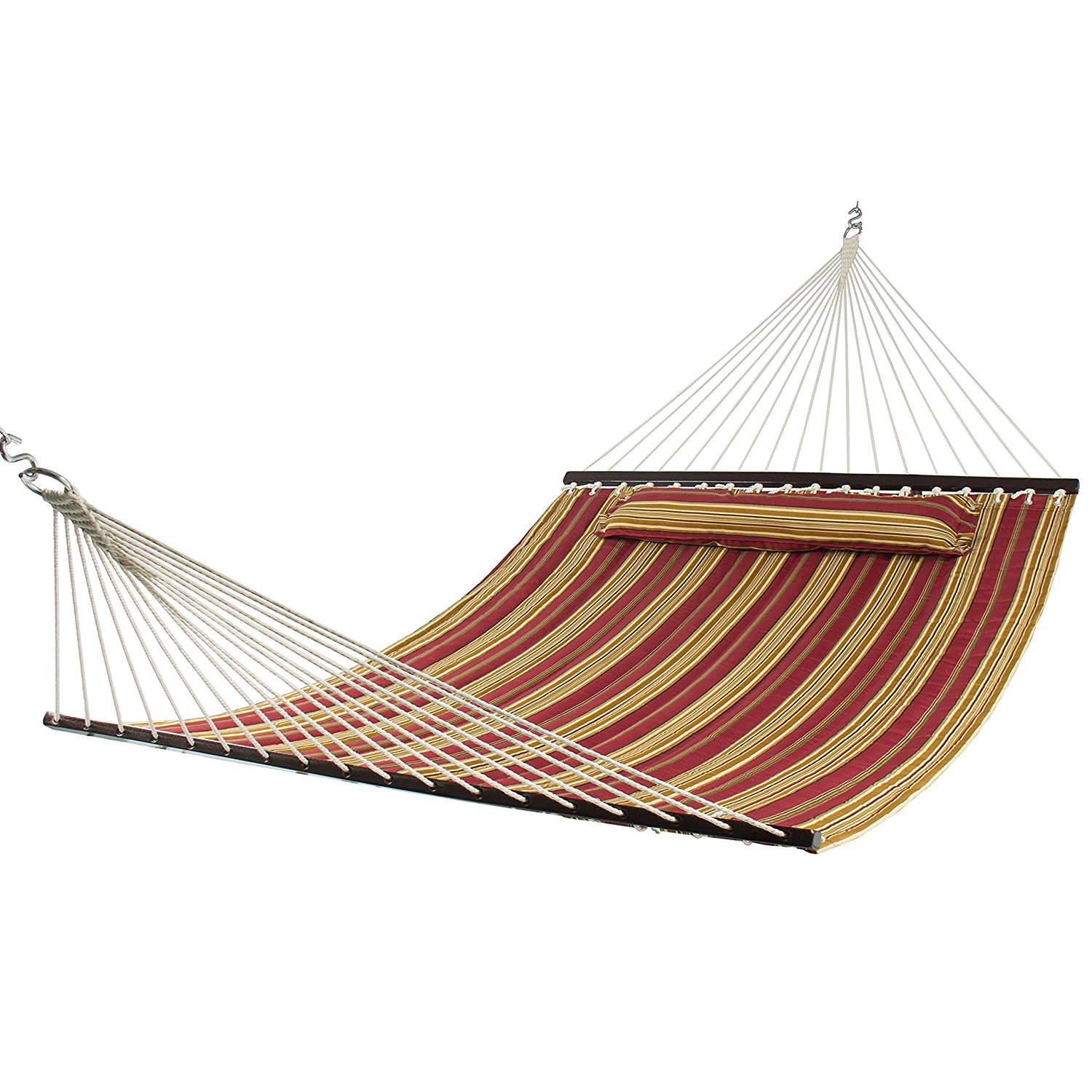 Best choice products hammock quilted hammocks - How to make a cloth hammock ...