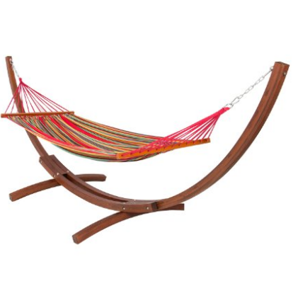 best choice products wooden curved arc hammock stand best 2 person hammock with stand   hammocks adviser  rh   hammocksadviser